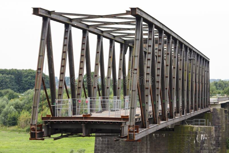 Deconstruction stary most obrazy stock