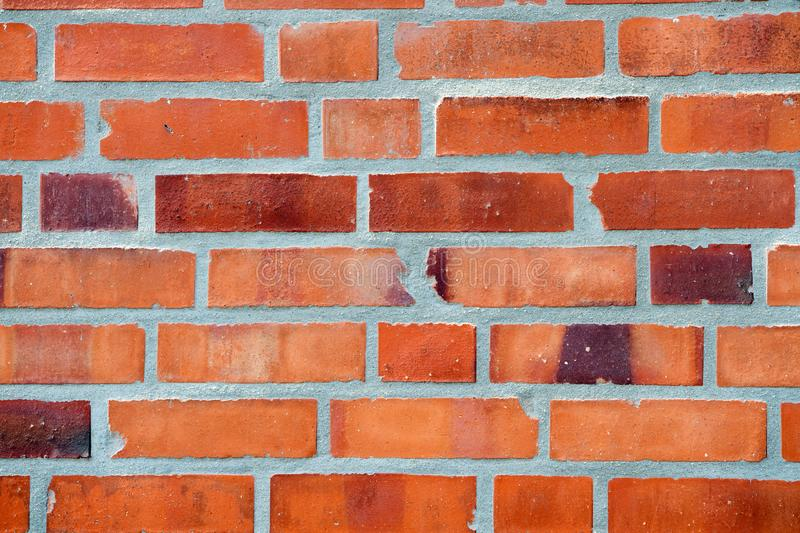 Decor and design. Red brick wall texture background. Industrial background empty grunge urban warehouse brick wall. Building material concept. Surface on royalty free stock images