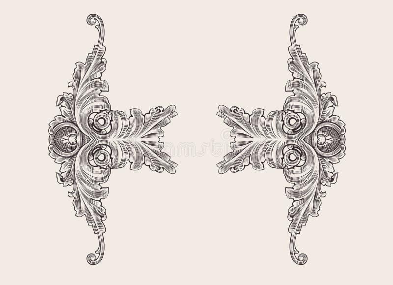 Download Decor Elements Floral Ornament. Stock Vector - Image: 21305351