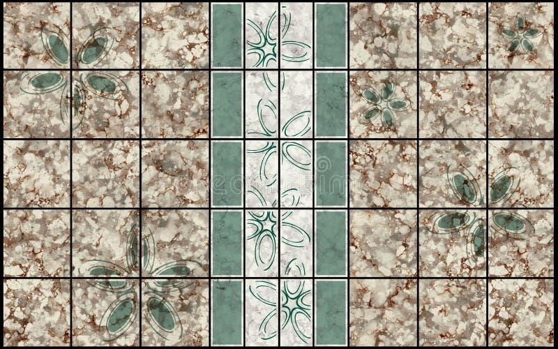 Download Decor mosaic pattern stock illustration. Illustration of stone - 16510998