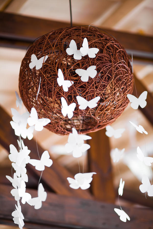 Download Decor  wedding  ball stock image. Image of butterfly - 26742889
