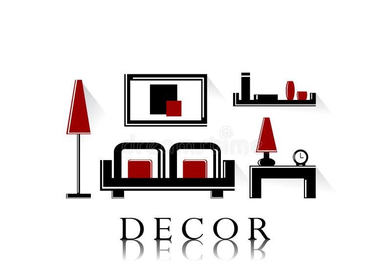 Decor. stock illustration