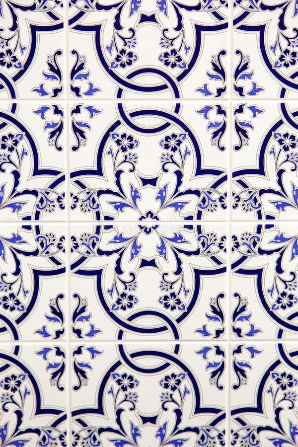 Decoração à moda do mosaico foto de stock royalty free