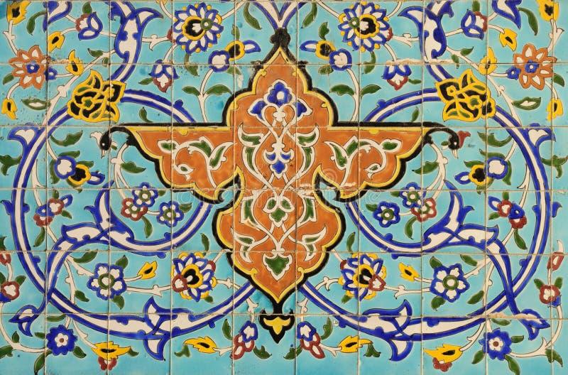 Decoração árabe tradicional foto de stock