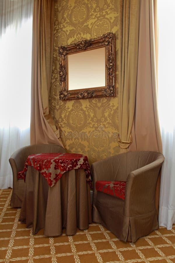 Decoração barroco fotografia de stock