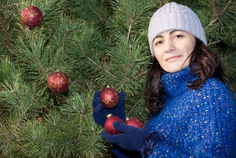 Decoração Da árvore De Natal Imagem de Stock