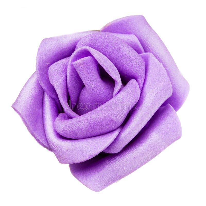 Decoração da cabeça de flor roxa, mola e conceito isolados, bonitos do verão imagens de stock royalty free