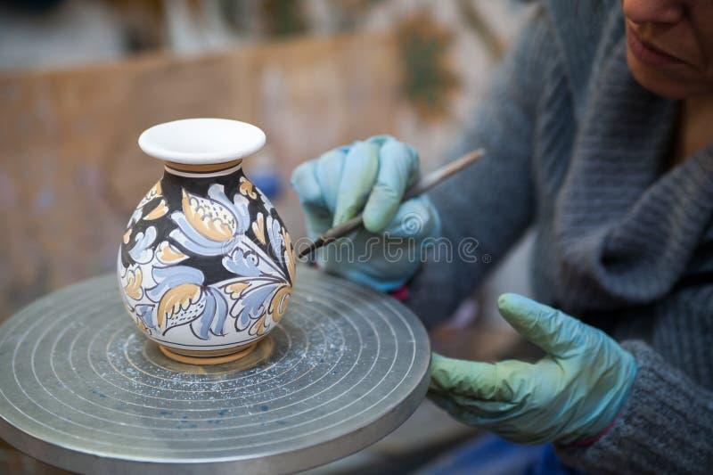 Decoração da cerâmica imagens de stock royalty free
