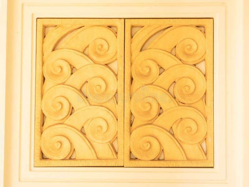 Decoração da cerâmica da porta de Windows feito a mão fotos de stock royalty free
