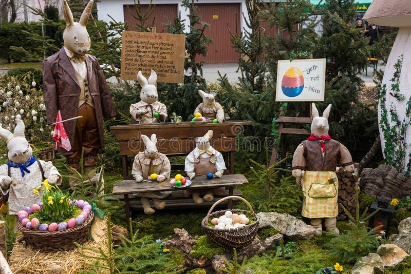 Decoração da Páscoa foto de stock