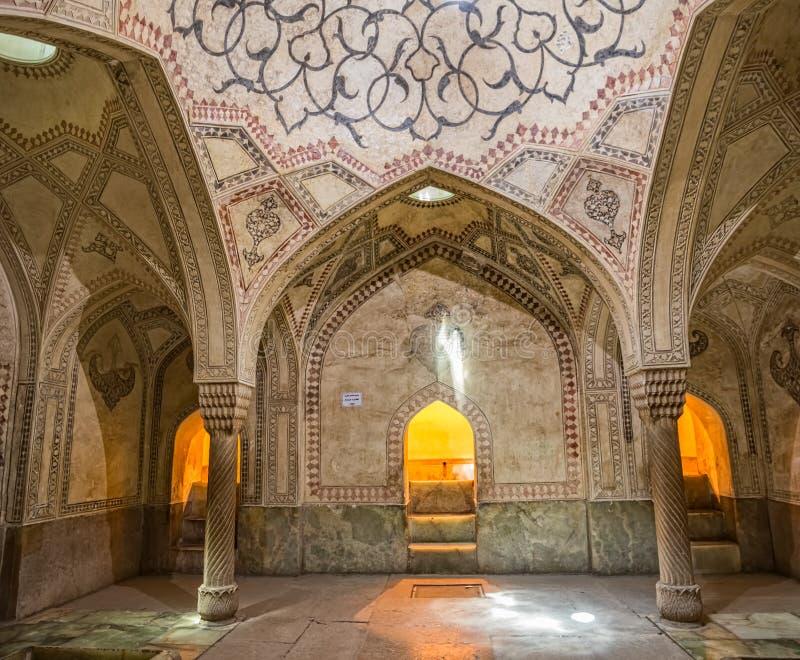 Decoração da sala de Shiraz Citadel imagem de stock