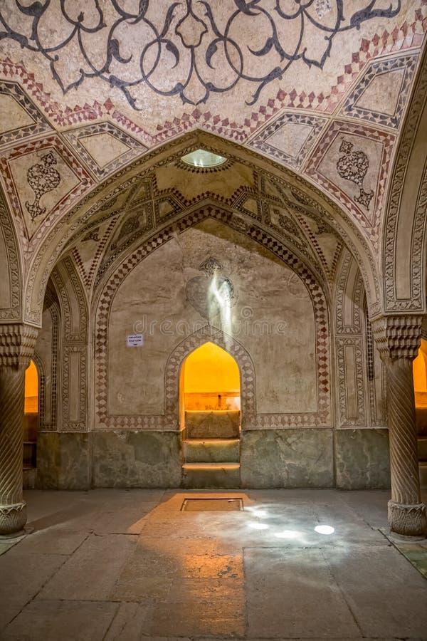 Decoração da sala de Shiraz Citadel foto de stock royalty free