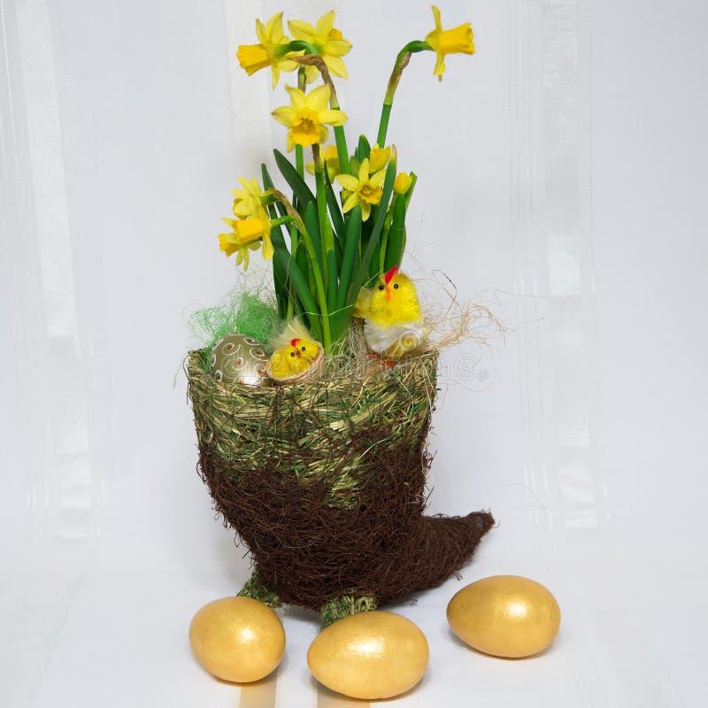 Download Flores de Easter foto de stock. Imagem de branco, projeto - 29834366