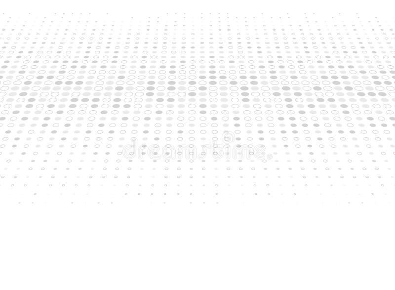 Decoração de intervalo mínimo do teste padrão dos pontos cinzentos do projeto moderno no fundo branco Vetor eps10 da ilustra??o ilustração stock