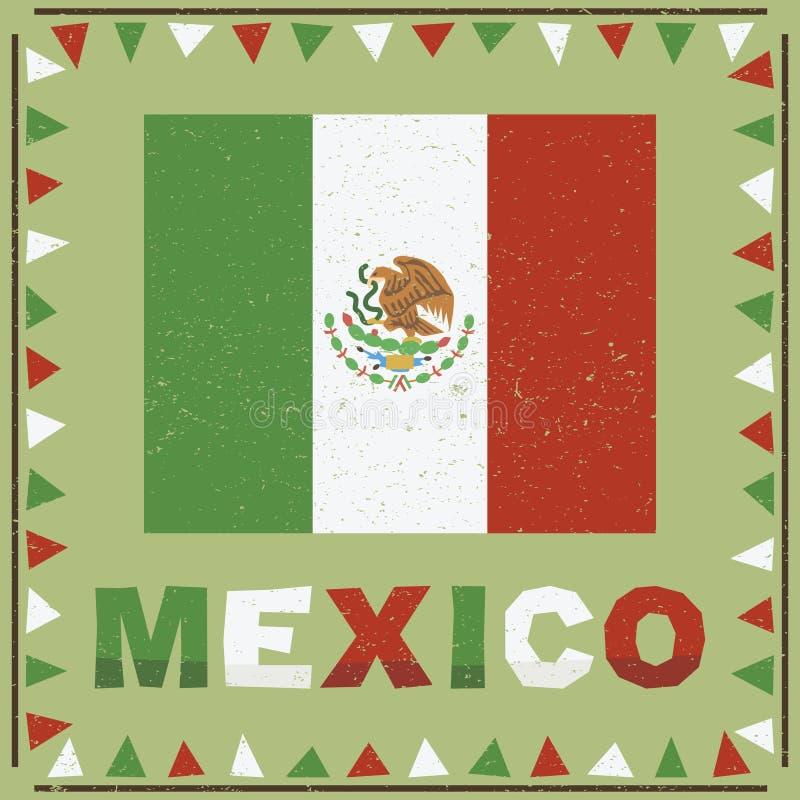 Decoração de México ilustração royalty free