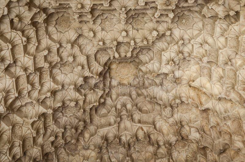 Decoração decorativa de Al Andalus e conceito filigrana A Andaluzia de visita imagens de stock