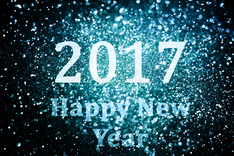 Decoração do ano novo, close up em fundos dourados foto de stock royalty free