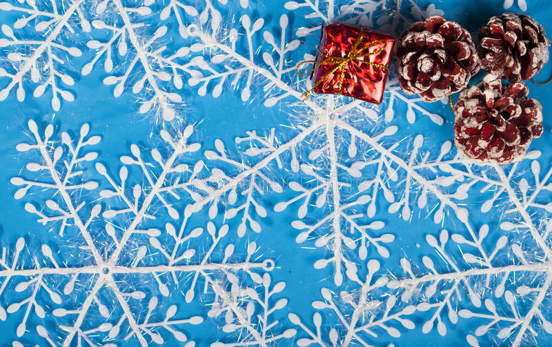 Decoração do ano novo do Natal fotografia de stock royalty free