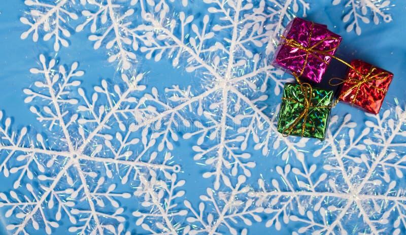 Decoração do ano novo do Natal imagem de stock royalty free