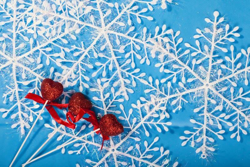 Decoração do ano novo do Natal foto de stock