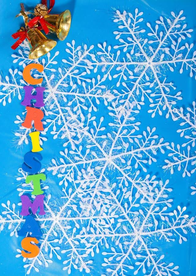 Decoração do ano novo do Natal fotografia de stock