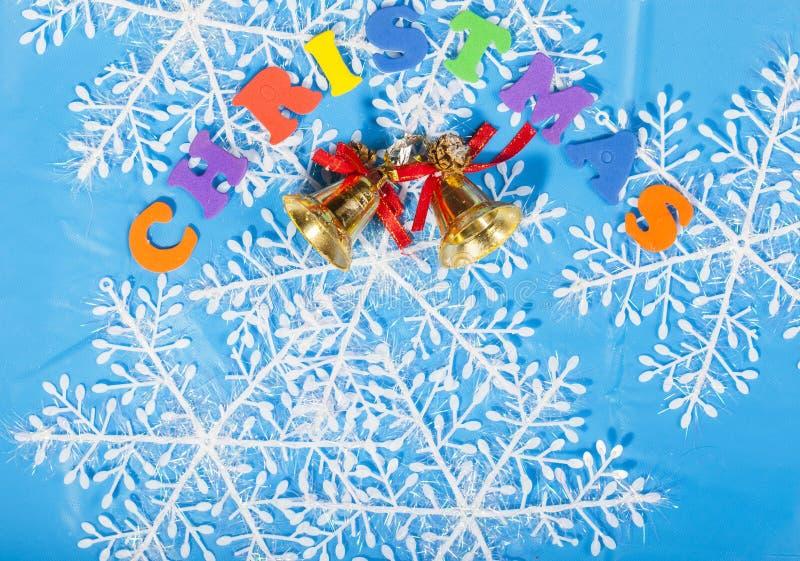 Decoração do ano novo do Natal fotos de stock royalty free