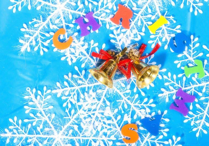 Decoração do ano novo do Natal fotos de stock