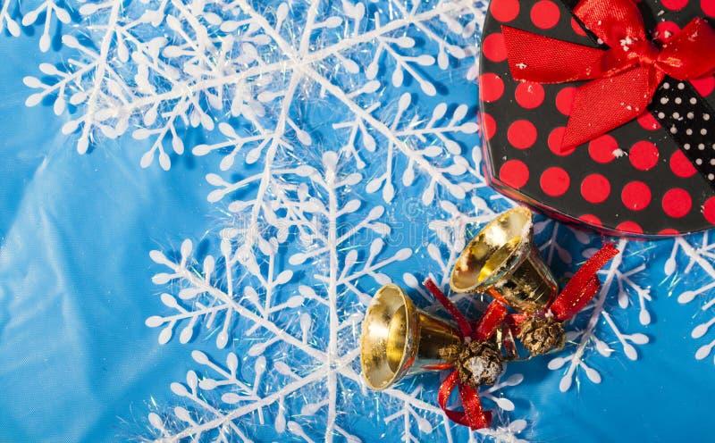 Decoração do ano novo do Natal foto de stock royalty free