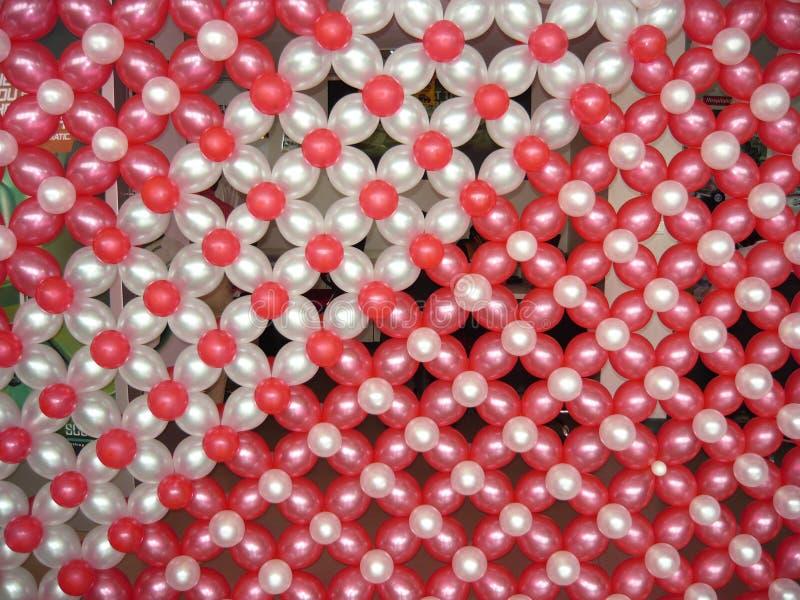 Decoração do balão foto de stock