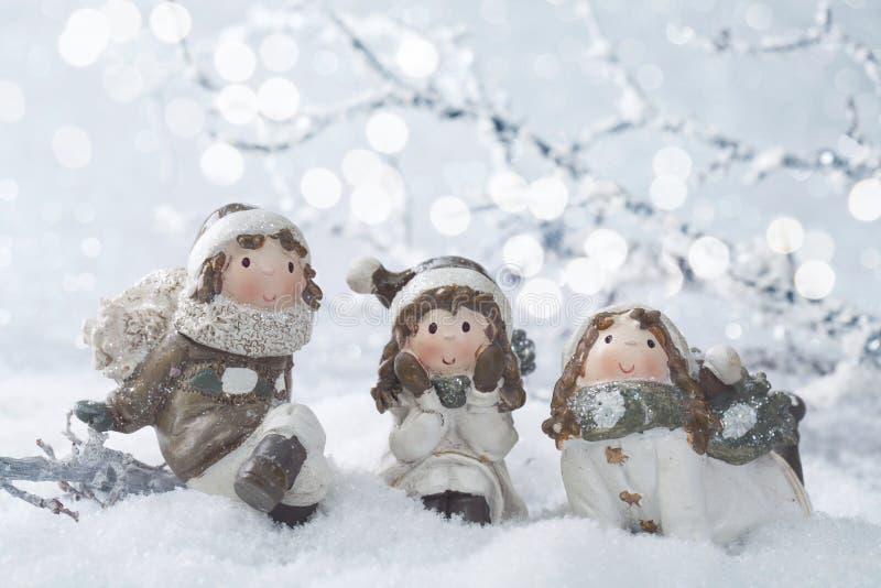 Decoração do inverno fotografia de stock royalty free