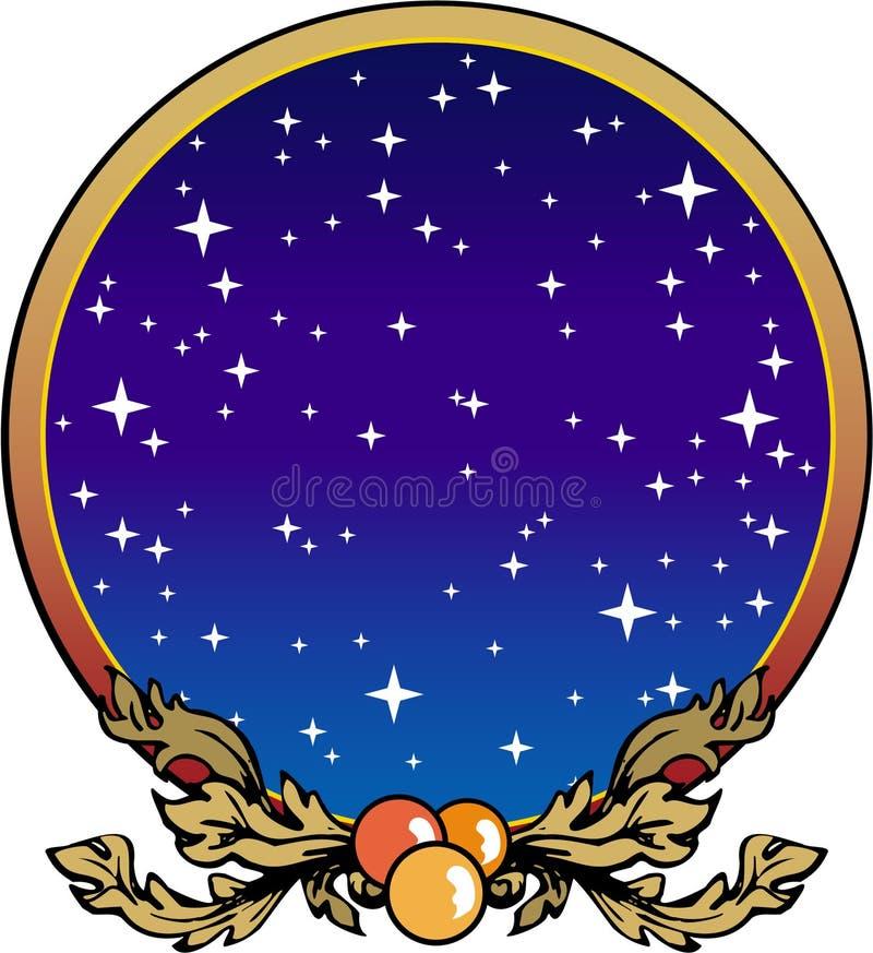 Decora??o do Natal ilustração royalty free