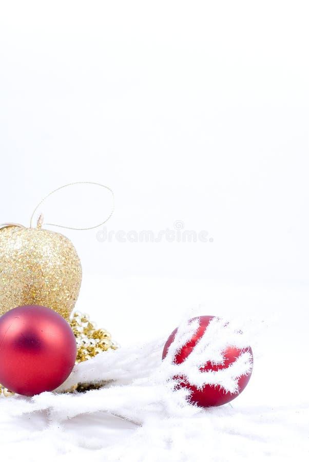 Download Decoração do Natal foto de stock. Imagem de inverno, isolado - 16854194