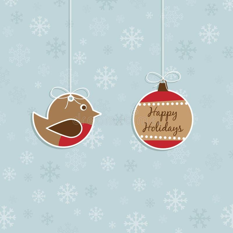Download Decoração do Natal ilustração do vetor. Ilustração de azul - 16861177