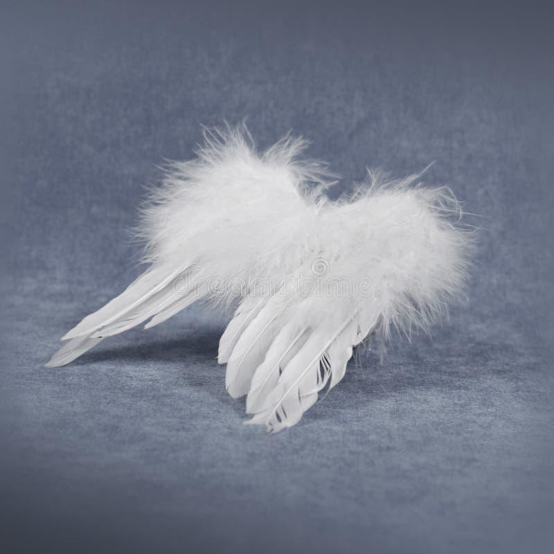 Decoração do Natal - asas do anjo fotos de stock