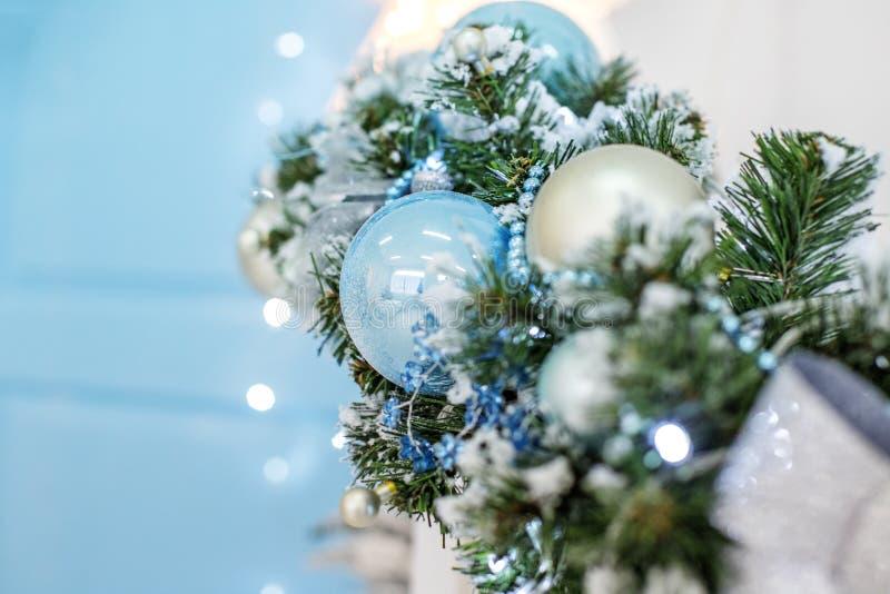 Decoração do Natal Copie o espaço Natal feliz do conceito, ano novo, fotos de stock