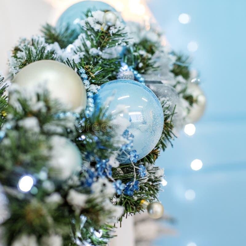 Decoração do Natal Copie o espaço Natal feliz do conceito, ano novo, foto de stock