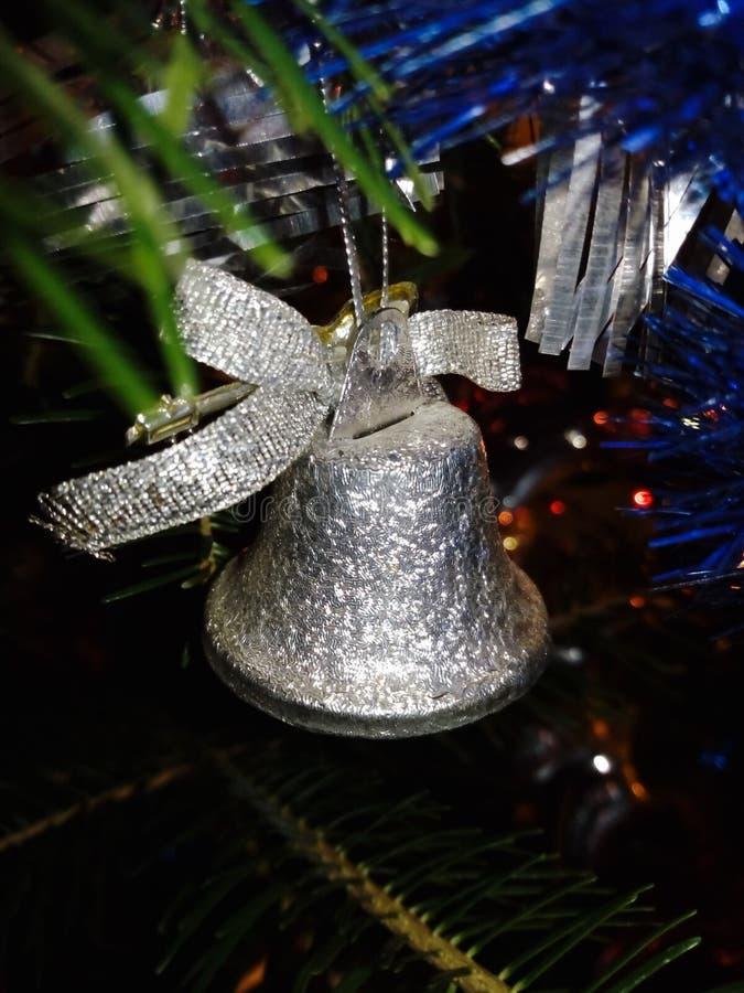 Decoração do Natal de Bell imagem de stock royalty free