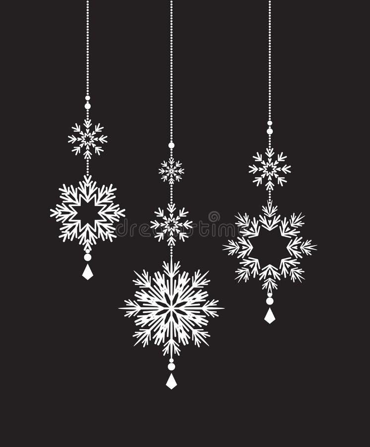 Decoração do Natal do vetor ilustração royalty free