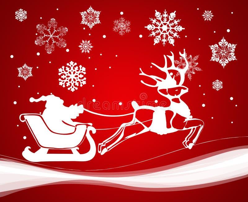 Decoração do Natal. Vetor ilustração royalty free