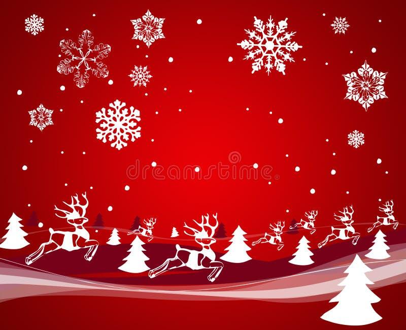 Decoração do Natal. Vetor ilustração stock