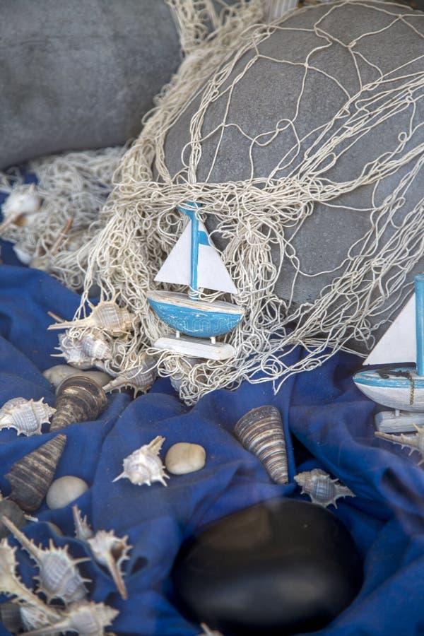 Decoração do oceano imagem de stock
