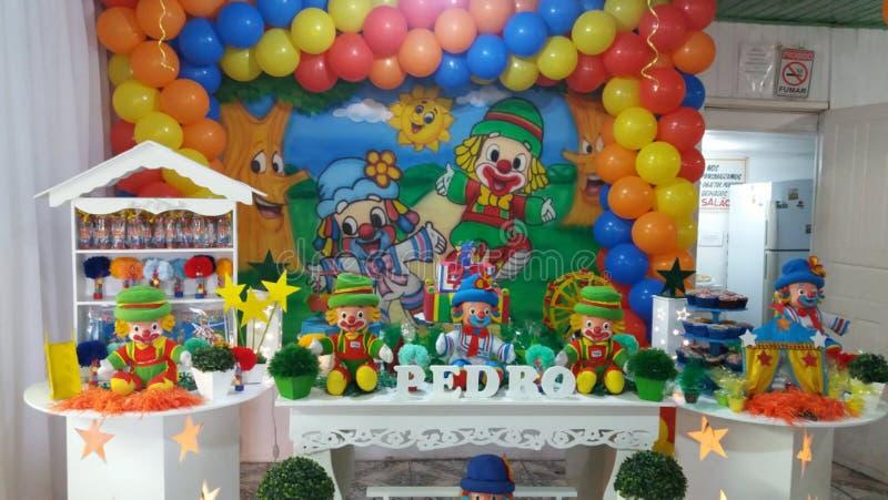 decoração do partido das crianças fotos de stock royalty free