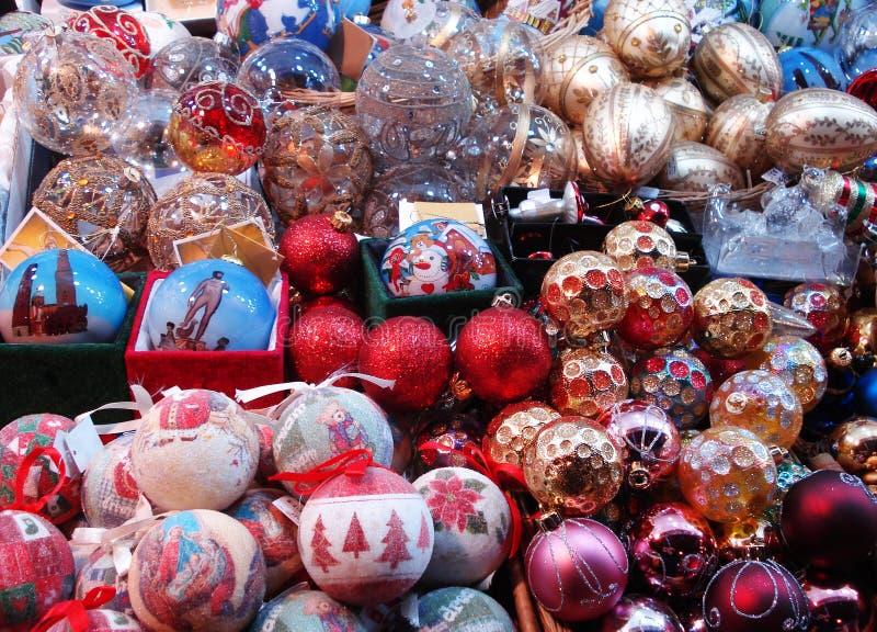 Decoração do tempo do Natal fotografia de stock royalty free