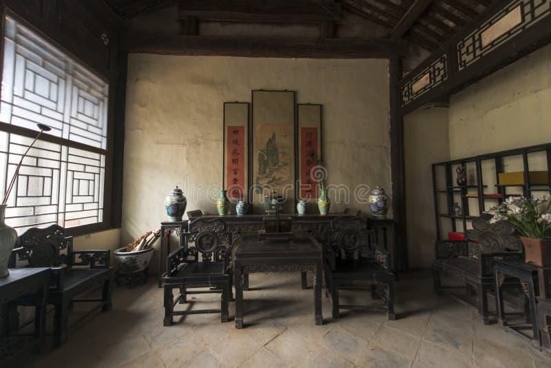 Decoração interior da arquitetura antiga imagem de stock