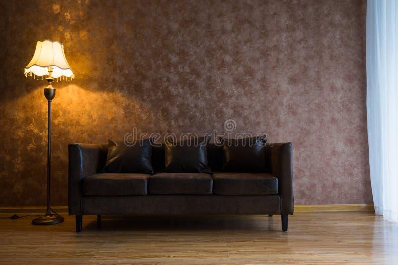 Decoração interior da casa moderna imagem de stock royalty free