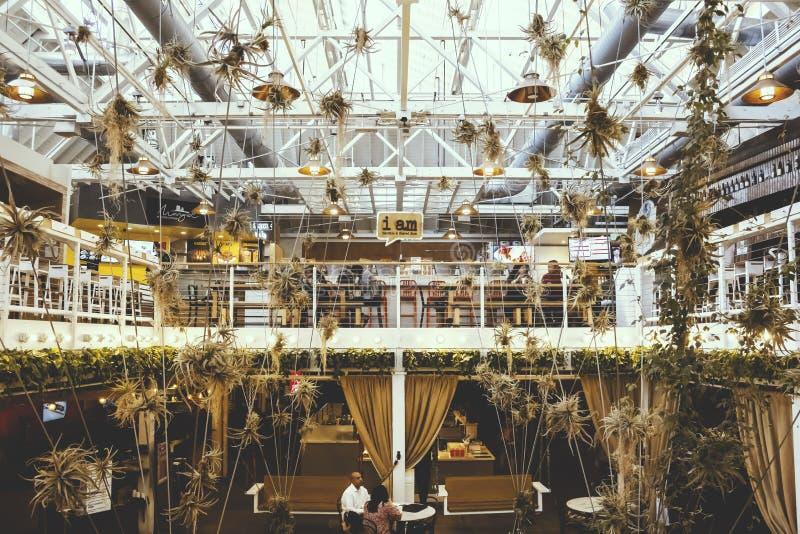 Decoração interior do packinghouse de Anaheim fotos de stock royalty free