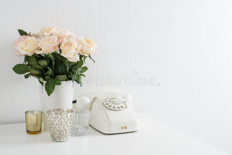 decoração interior moderna foto de stock