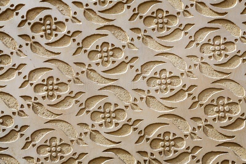 Decoração modelada mouro Segovia da parede imagem de stock royalty free