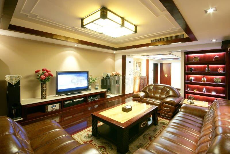 Decoração original e casa confortável imagens de stock royalty free