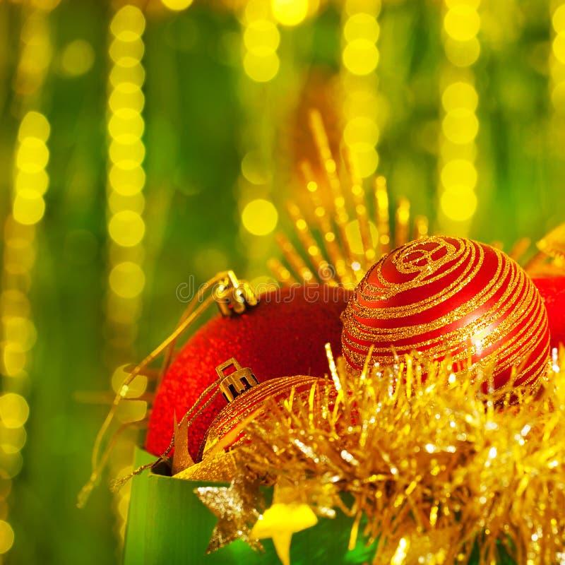 Decoração para a árvore de Natal fotografia de stock royalty free